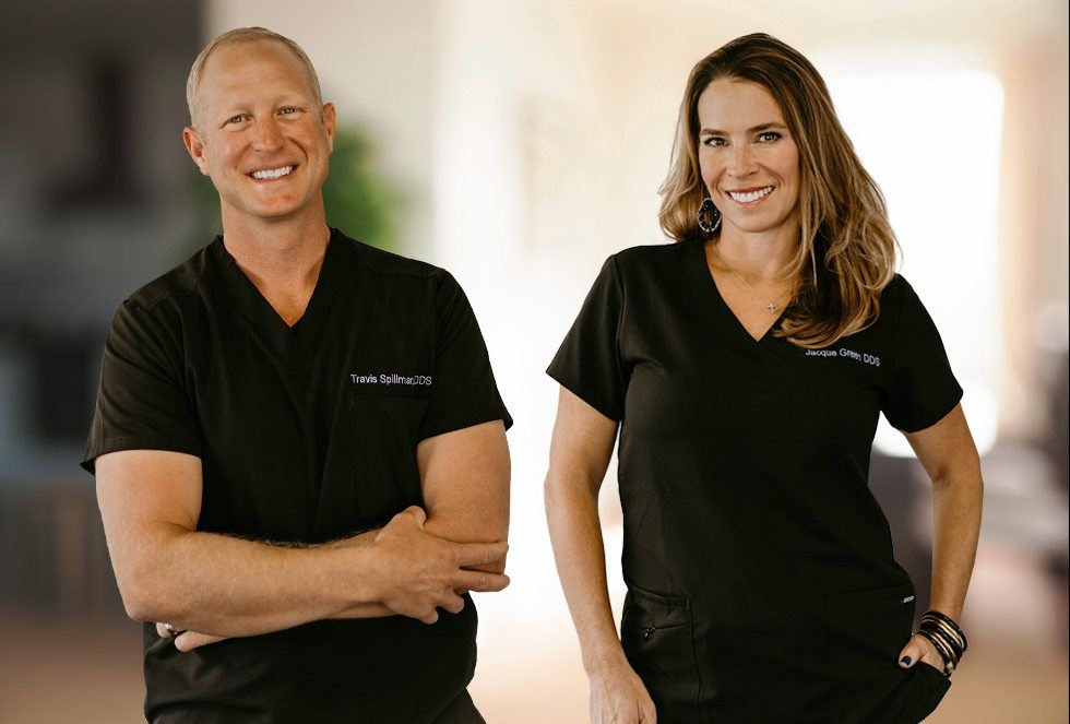 Lakewood dentists Travis Spillman D D S and Jacquelyn Green D D S